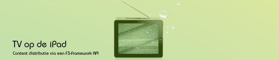 TV kijken op de iPad